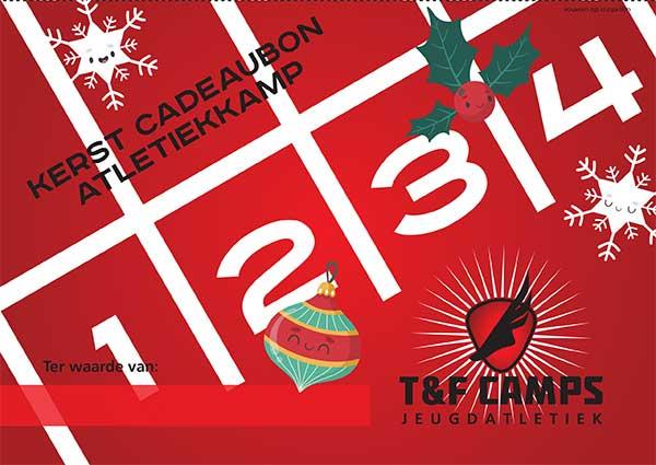 Kerst T&F Camps Cadeaubon